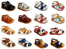 Baby Toddlers Boys Sandals Flat Summer Infant Girls Shoes Velcro Soft Sole Size