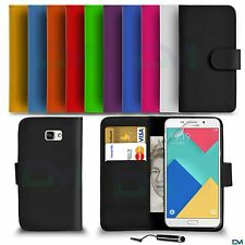 Premium Leather Wallet Case Cover For Samsung Galaxy Fame With Mini Stylus