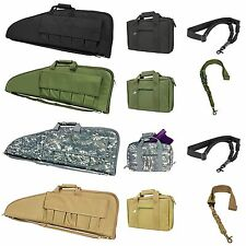 NcSTAR Tactical Rifle Pistol Soft Gun Magazine Carrying Case Pouch Sling Combo