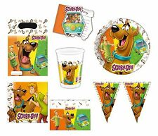 Scooby Doo Party Plates Cups Napkins Table Cover Decoration Kids Party Tableware