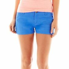 Arizona Bedford Cord Shorts Juniors Size 15 New Msrp $32 Palace Blue