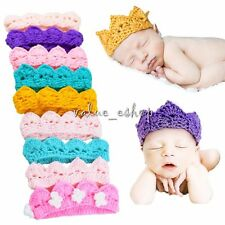 Newborn Baby Handmade Crochet Knit Costume Photo Photography Prop Outfits Hats