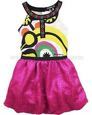 Desigual Girls' Dress Pompon, Sizes 5-14