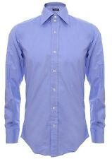 Dolce & Gabbana Blue Mens LS Dress Shirt Sizes, Sizes 15-3/4, 16, 16-1/2 NEW