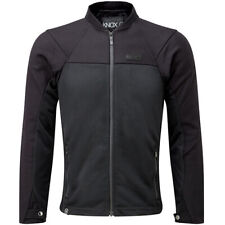 Knox Armoured Summer Zephyr Jacket Textile Motorcycle Motorbike Black