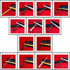 Cosplay LED Harry Potter Hermione Dumbledore Sirius Voldemort Magic Wand In Box