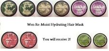2 Wen Re-Moist Hydrating Hair Mask   YOU CHOOSE YOUR SCENT  Brand New