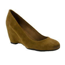 Franco Sarto Women's Max Velours Shoes New Camel Suede