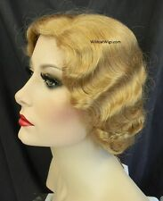 Finger Wave Fingerwave Wig .. Fab 1920's Style!   ....  COLOR CHOICE !! *