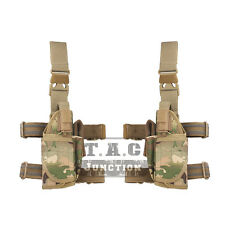 Emerson Tactical Adjustable Universal Drop Leg Thigh Holster w/Magazine Pouch