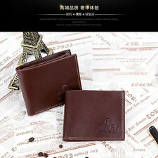 Wallet ID business mens leather credit card holder slim money clip