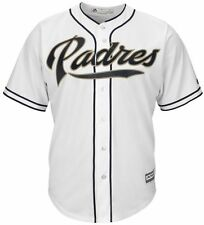 San Diego Padres Majestic Cool Base Replica Mens White Jersey Big & Tall Sizes