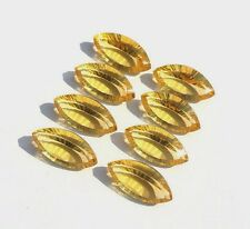 Natural Citrine Marquise Concav Cut 5x10mm-7x14mm Calibrated Size Loose Gemstone
