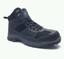 Ozark Trail Mens Black Mid Profile Casual / Hiking Boots/Shoes: 8.5-12