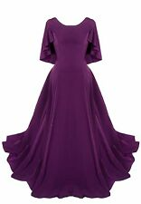 Long Purple FULL Gown Play Production Church Choir Dresses LOT (10 Available)