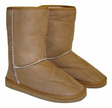 Women's Chesnut Faux Suede Sherpa Lined Warm Winter Boots - Pick Your Size