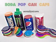 Soda Savers, Pop, Beer, Can Caps, Lids, Choice of 5 Styles!! READ LISTING!!!!