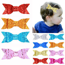 Baby Girls Hair Clip Sequined Cute Bowknot Hair Pin Barrette Hair Accessories