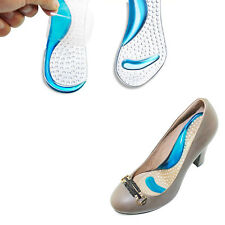Non-Slip Silicone Sandals High Heel Arch Cushion Support Gel Pads Shoes Insole