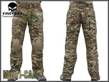 Emerson Military Tactical G2 Airsoft Pants w/ Detachable Knee Pads Multicam Hunt