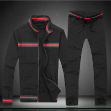 Fashion Desig Mens SportwearBaseball jackets Sweat Pants Sport Suit (coat+pants