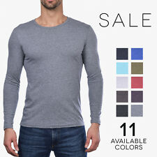 Next Level Tri-Blend Long Sleeve Crew T-Shirt Premium Basic Vintage Tee 6071