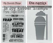My Favorite Things COOL CUP Die-Namics Dies, STAY COOL Clear Stamps Cold Drinks