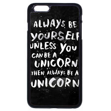 Batman Always be yourself Unic For iPhone 4 4S 5 5S 5C 6/6S Plus iPod 4 5 6 Case