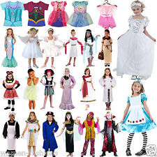 Children Girls Fancy dress Costumes complete outfit Wonderland Book Week Costume