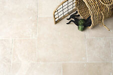 TUMBLED TRAVERTINE FLOOR & WALL TILES 610x406x12mm £29.99 PER SQM - PACKAGE DEAL