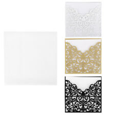 10pcs Engagement Party Invitations With Envelopes Seals Wedding Invitation Cards
