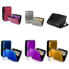 Waterproof Metal Business ID Credit Card Mini Wallet Holder Pocket Case Box Hot