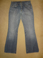 7 For All Mankind Womens Jeans Size 29 Flare Medium Wash Denim