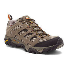 Merrell MOAB VENTILATOR J86595 Mens Walnut Leather Lace Up Athletic Hiking Shoes