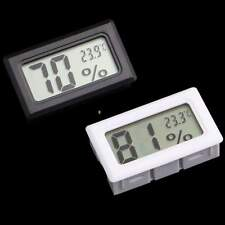 Mini Digital LCD Thermometer Temperature Indoor Humidity Meter Gauge Hygrometer