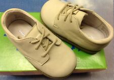 Jumping Jacks Boys Sand Leather Lace Oxford Dress Shoes Toddler Size 5 to 9 M&W