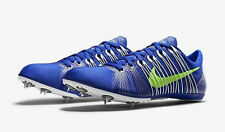 NIKE Zoom VICTORY 2 II Track Field Spikes Cleats Shoes Blue White Lime SZ 11 13