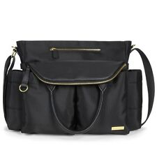 Skip Hop Chelsea Downtown Chic Nappy Bag Black Free Express Shipping! SH200450