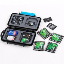 Portable Memory Card Storage Box Case for SD XD TF CF PSV MSPD Memory Cards