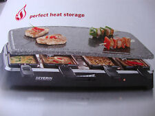 INDOOR RACLETTE PARTY GRILL - NATURAL GRILL STONE - FOR STEAK LOVERS.