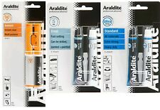 Araldite Standard Instant Steel Crystal Repair Bar Strong Epoxy New