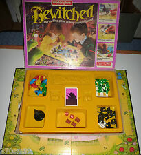 VINTAGE BEWITCHED BOARD GAME SPARE PLAYING PIECES WADDINGTONS 1988