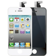 LCD Touch Screen Replacement For iPhone 4/4S Digitizer Assembly Black White+Tool