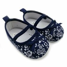 Vogue Girl Baby Toddler Soft Sole Anti-slip Slippers Cotton Bow Shoes Prewalkers
