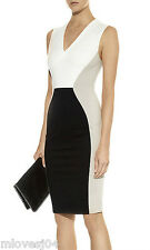 Stella McCartney Colour Block Strech Jersey Knit Sheth Dress BNWT 10 12 IT 40 42