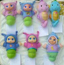 PLAYSKOOL  / Fisher Price Musical Lullaby Gloworm Seahorses Glow Worm REDUCED