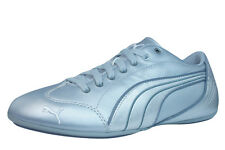 Puma Yalu Metallic Womens Leather Sneakers - Shoes - Silver 5301 See Sizes