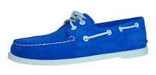 Sperry Top Sider A/O 2 Eye Suede Mens Boat / Deck Shoes - Blue - 0612