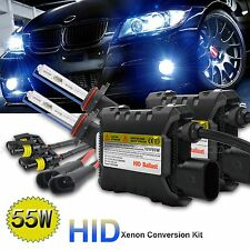 2x 55W HID Xenon Conversion Kit Replacement  H1 H3 H4 9006 9005 H4 9004/9007 H13