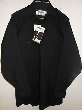 ELBECO 320...TEX TROP... L/S SHIRT...100% POLYESTER...BLACK...VARIOUS SIZES
